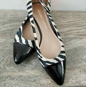 FRANCO SARTO Zebra Stripe Shoes